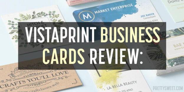 vistaprint business cards review