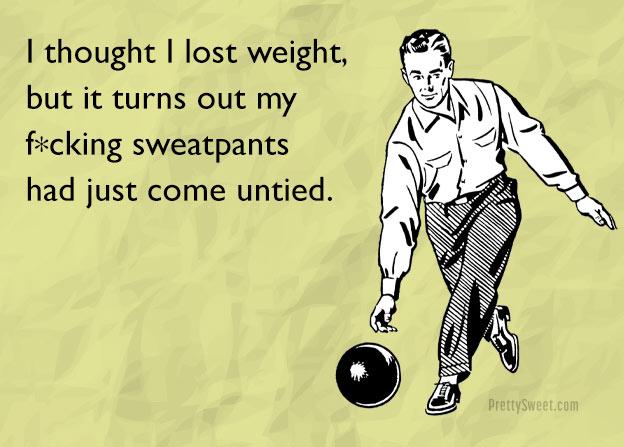 weight loss sweatpants meme funny man
