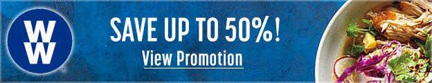 weight watchers promotion banner