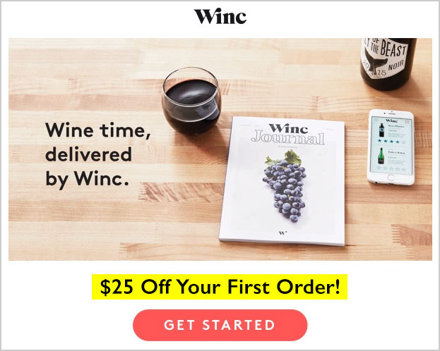 winc coupon 25