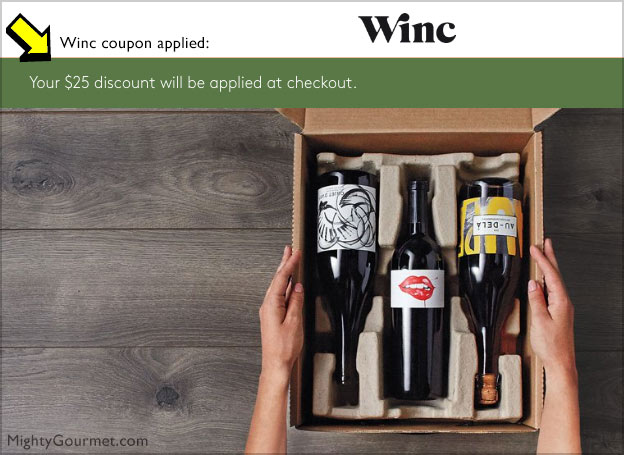 winc coupon applied