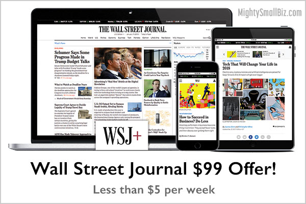 wsj offer 99 subscription