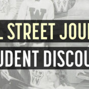 wsj student discount