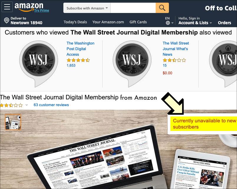 wsj digital subscription coupon