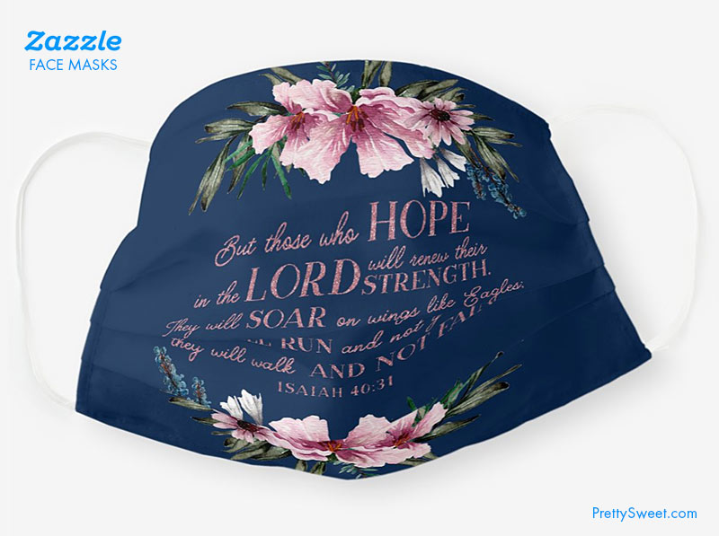 face mask christian bible verse