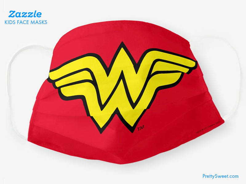 zazzle kids mask wonder woman